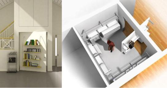 фото необычного дизайна комнатных дверей