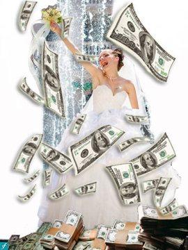 шикарные и дорогие подарки на свадьбу