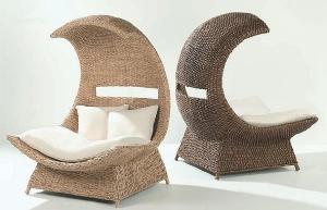необычные плетеные кресла