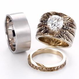 обручальное кольцо Ферджи