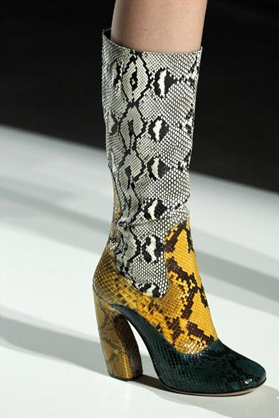Модная обувь осень зима 2011 2012
