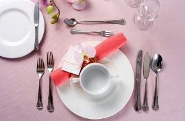 Правила сервировки стола к завтраку, обеду и ужину: виды сервировки, схемы и фото