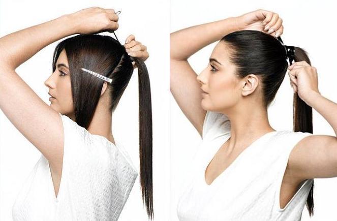 Как сделать волос гладким без утюжка 892