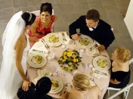 Рассадка гостей на свадьбе: как рассадить гостей