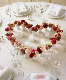 расстановка столов на свадьбе