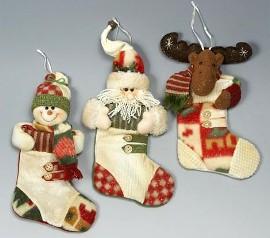 Рождественский носок: выкройка и мк, история новогоднего носка