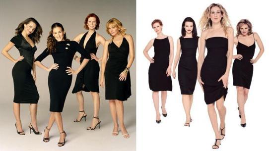 Четыре коротких коктейльных платья