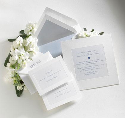 Визитка предстоящей свадьбы - свадебные приглашения