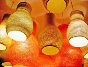 Свет в дизайне нашего дома: лампы, люстры, и бра