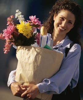Язык цветов в подарке-комплименте от женщины женщине